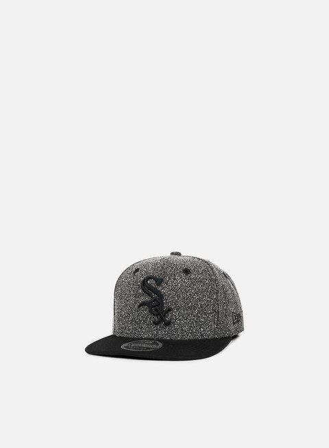 cappellini new era flecked crown snapback chicago white sox grey black