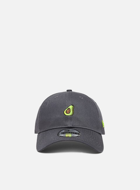 Curved Brim Caps New Era Food Icon 9Twenty Avocado Strapback