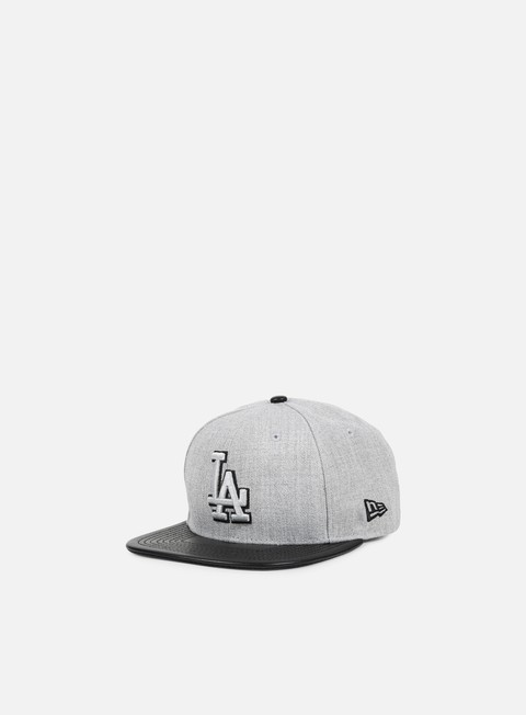 cappellini new era heather mix snapback la dodgers heather grey black