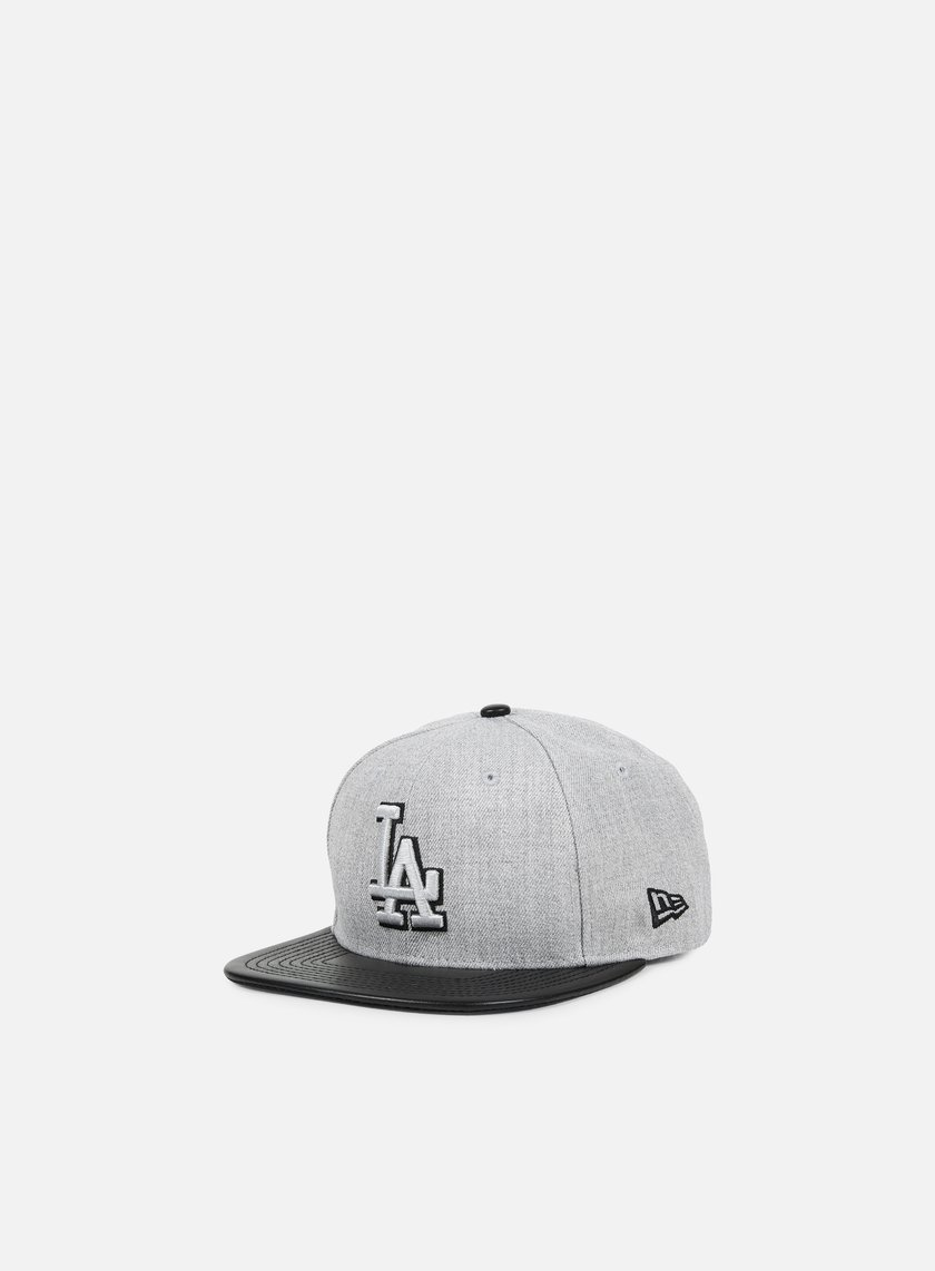 New Era - Heather Mix Snapback LA Dodgers, Heather Grey/Black