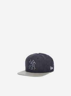 New Era - Heather Mix Snapback NY Yankees, Navy/Grey 1