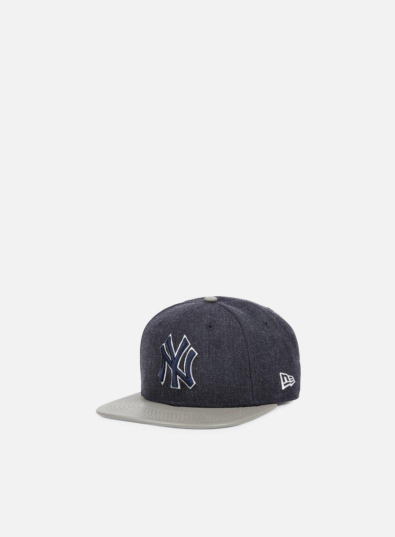 New Era - Heather Mix Snapback NY Yankees, Navy/Grey