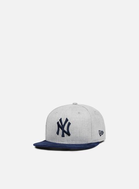 Outlet e Saldi Cappellini Snapback New Era Heather Suede Snapback NY Yankees