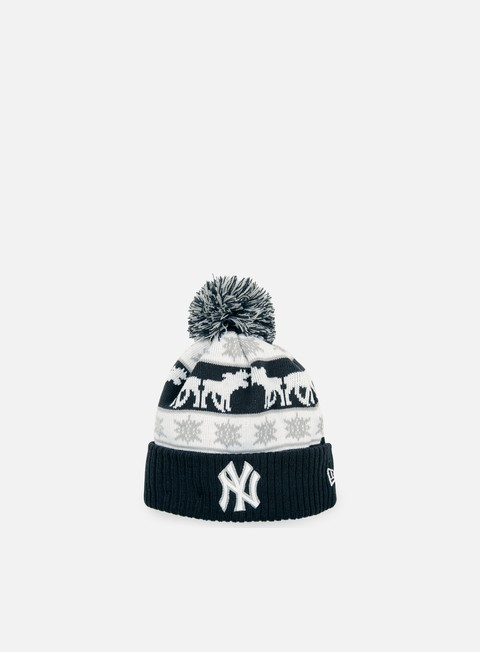 cappellini new era holiday intarsia beanie ny yankees team colors