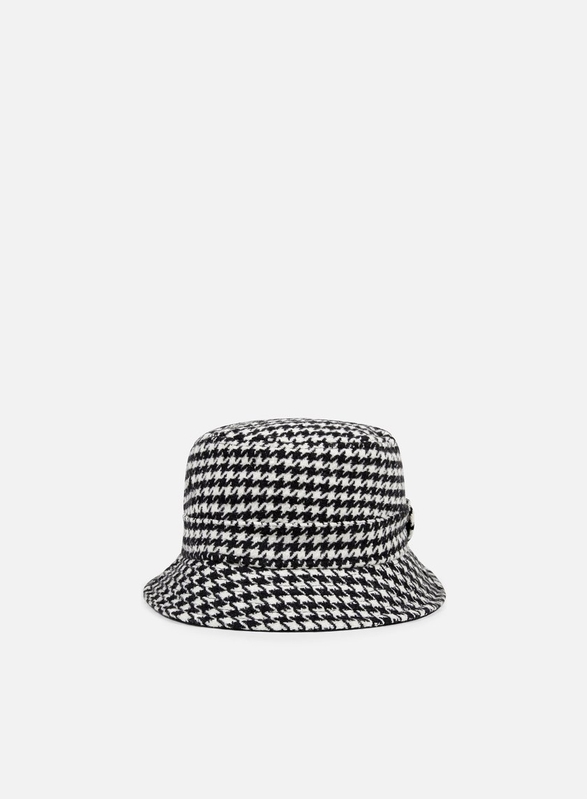 New Era - Houndstooth Bucket, Black/White