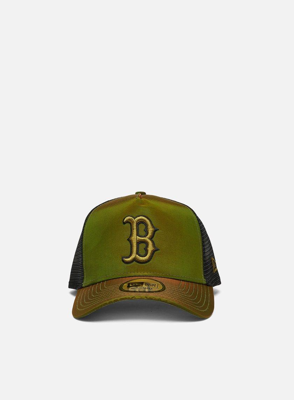New Era Hypertone Trucker Snapback Boston Red Sox