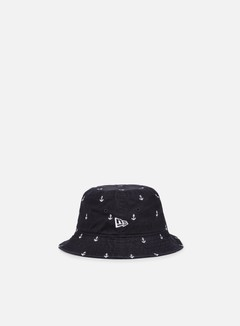 New Era - Japan All Over Anchora Bucket, Navy 1