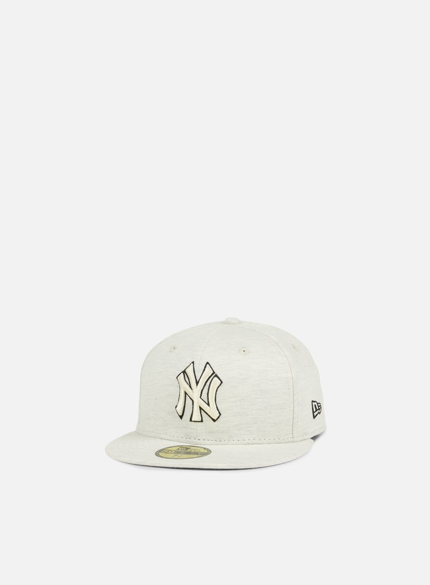 New Era - Jersey Fitted NY Yankees, Stone