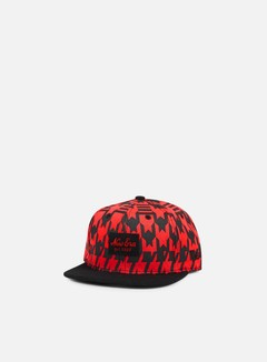 New Era - Jersey Melt New Era Snapback, Black/Scarlet 1