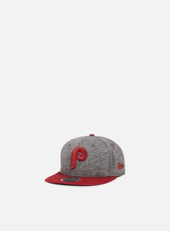 New Era - Jersey Mix 9Fifty Snapback Philadelphia Phillies, Grey/Cardinal 1