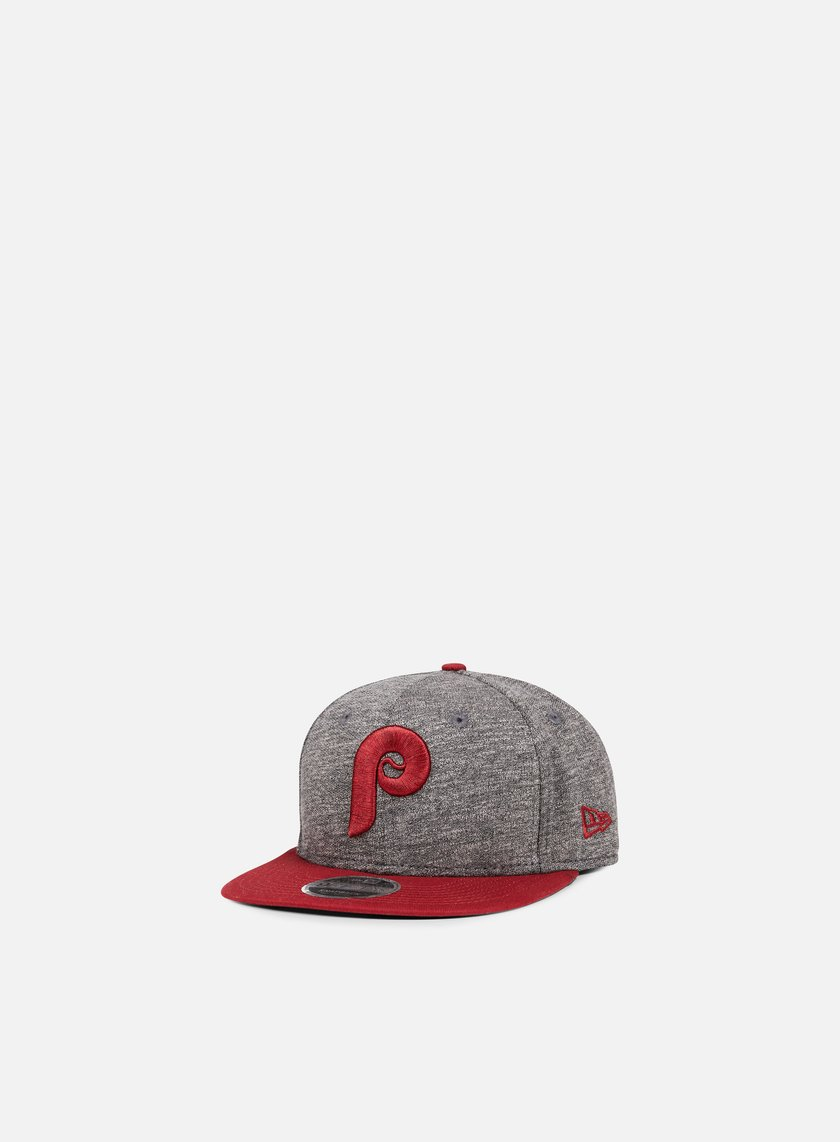 New Era - Jersey Mix 9Fifty Snapback Philadelphia Phillies, Grey/Cardinal