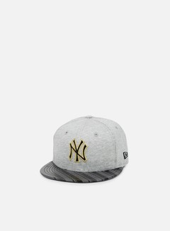 New Era - Jersey Stripe NY Yankees, Grey/Black/Grey Heather 1