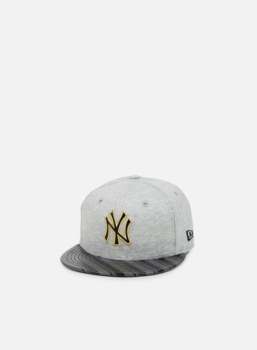 New Era - Jersey Stripe NY Yankees, Grey/Black/Grey Heather