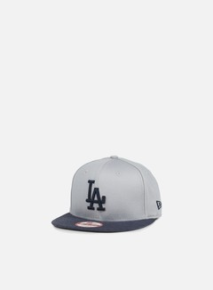 New Era - Jersey Team Snapback LA Dodgers, Grey/Navy 1