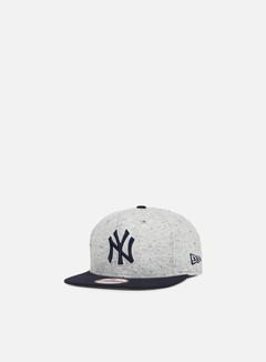 New Era - Jersey Team Snapback NY Yankees, Grey/Team Colors