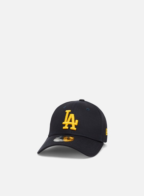 Curved Brim Caps New Era League Essential 39Thirty LA Dodgers