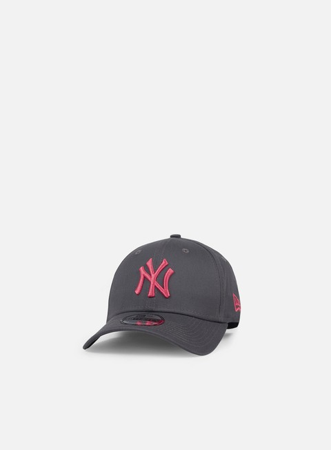 cappellini new era league essential 39thirty ny yankees dark grey laser pink