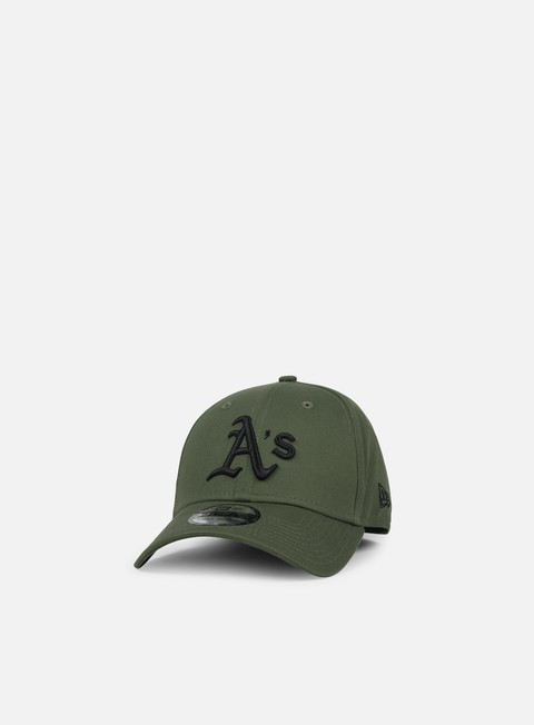 cappellini new era league essential 39thirty oakland athletics olive green black