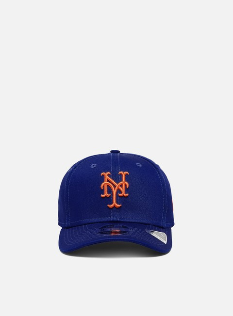 Curved Brim Caps New Era League Essential 9Fifty Snapback NY Mets