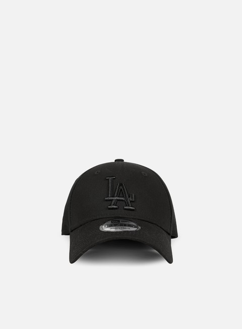 cappellini new era league essential 9forty strapback la dodgers black black
