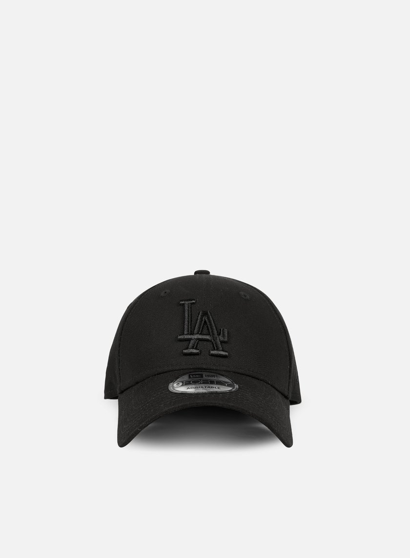 New Era - League Essential 9Forty Strapback LA Dodgers, Black/Black