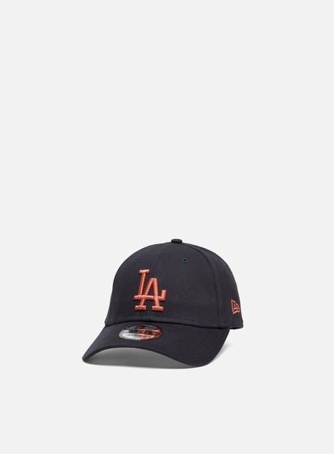 Outlet e Saldi Cappellini Visiera Curva New Era League Essential 9Forty Strapback LA Dodgers