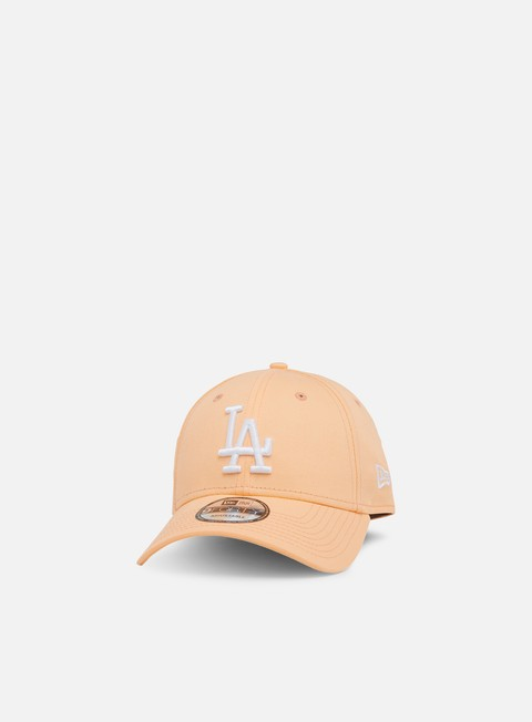 cappellini new era league essential 9forty strapback la dodgers peach white