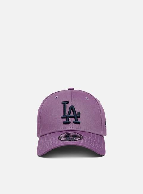 Curved Brim Caps New Era League Essential 9Forty Strapback LA Dodgers