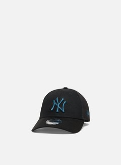 New Era - League Essential 9Forty Strapback NY Yankees, Black/Blue