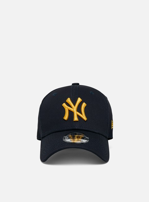 Outlet e Saldi Cappellini con visiera New Era League Essential 9Forty Strapback NY Yankees