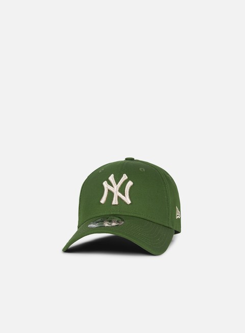 cappellini new era league essential 9forty strapback ny yankees rifle green stone