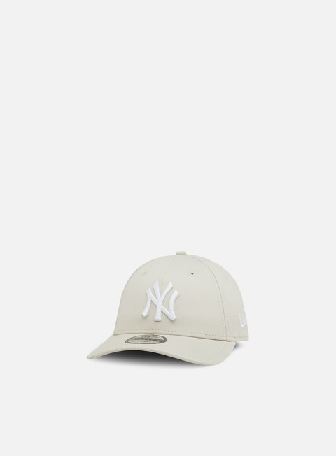 cappellini new era league essential 9forty strapback ny yankees stone white