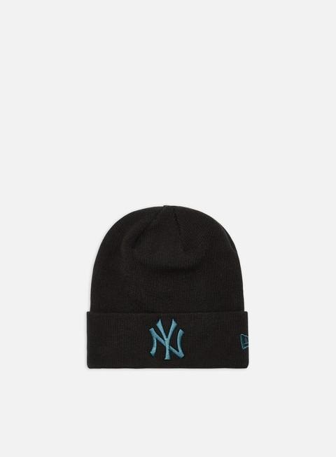 Outlet e Saldi Cuffie New Era League Essential Cuff Knit Beanie NY Yankees