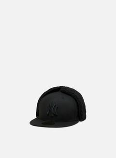 New Era - League Essential Dog Ear NY Yankees, Black/Black