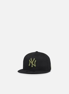 New Era - League Essential Snapback NY Yankees, Black/Olive Green