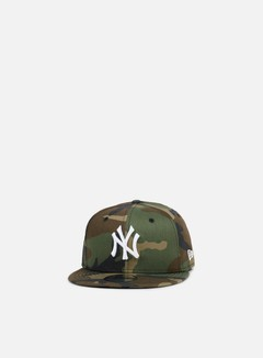 New Era - League Essential Snapback NY Yankees, Woodland Camo