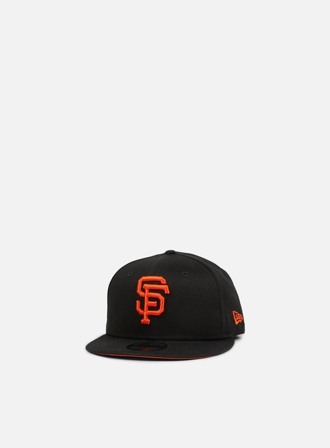 cappellini new era league essential snapback san francisco giants black orange