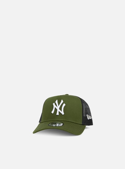 cappellini new era league essential trucker ny yankees rifle green white