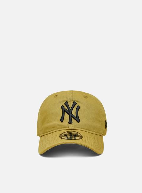 New Era Linen 9Twenty Strapback NY Yankees