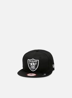 New Era Logo Prime Snapback Oakland Raiders