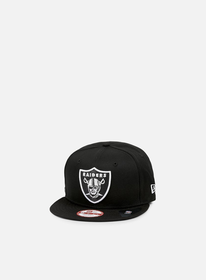 New Era - Logo Prime Snapback Oakland Raiders, Team Colors