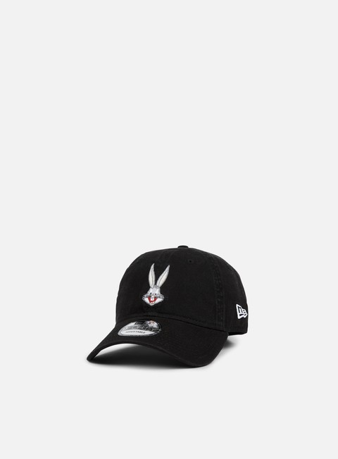 Curved Brim Caps New Era Looney Tunes 9Forty Strapback Bugs Bunny