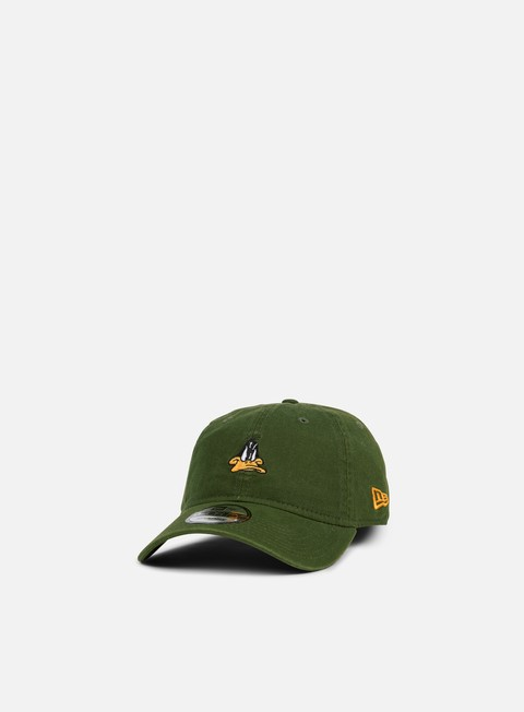Curved Brim Caps New Era Looney Tunes 9Forty Strapback Daffy Duck