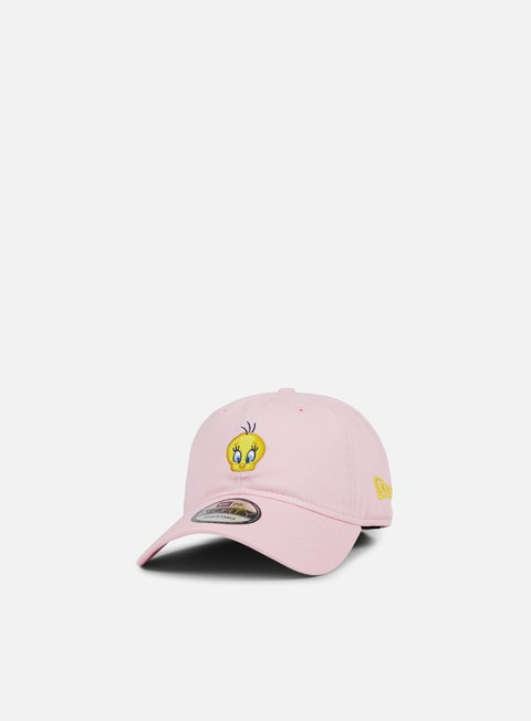 Outlet e Saldi Cappellini Visiera Curva New Era Looney Tunes 9Forty Strapback Tweety Bird