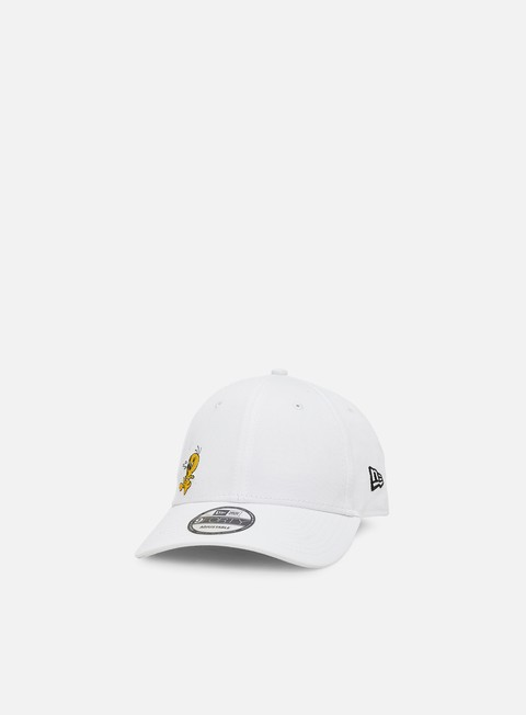 Outlet e Saldi Cappellini Visiera Curva New Era Looney Tunes Chase 9Forty Strapback Tweety Pie