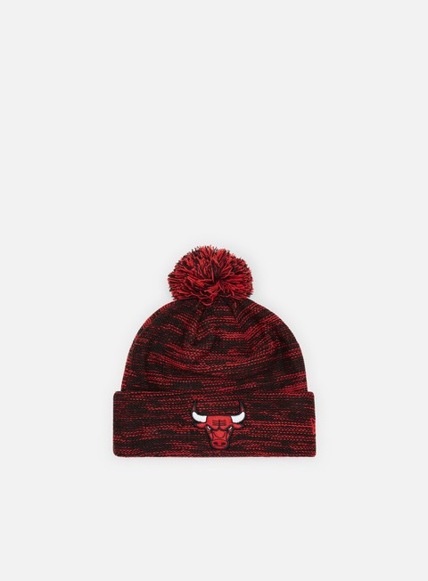 New Era Marl Knit Beanie Chicago Bulls