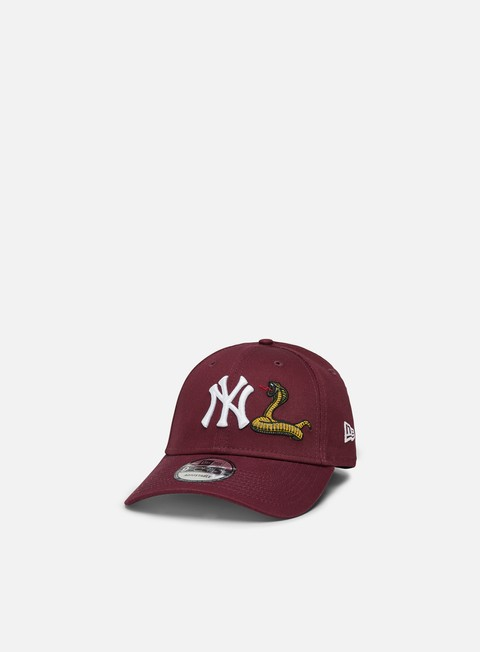 New Era Mens Twine MLB 9Forty Strapback NY Yankees
