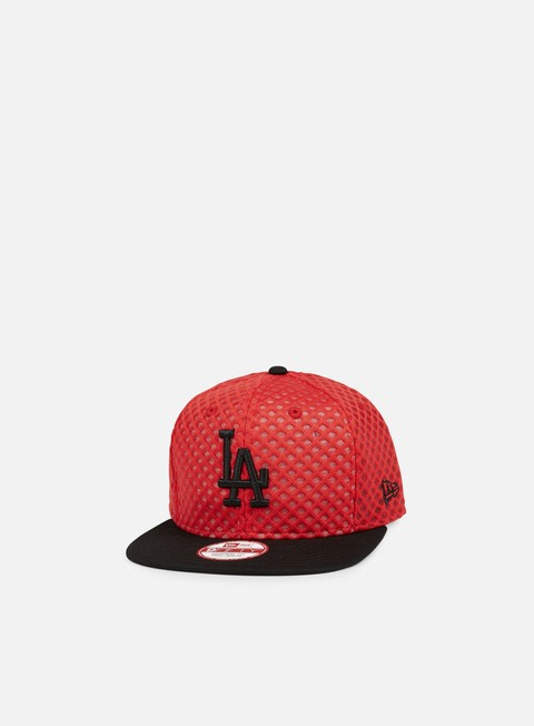 cappellini new era mesh crown snapback la dodgers scarlet black