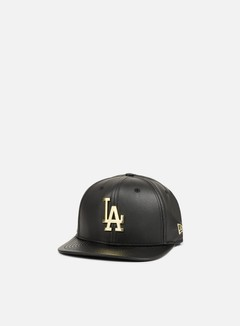New Era - Metal Prime Snapback LA Dodgers, Black/Gold 1