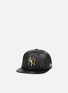 New Era - Metal Prime Snapback NY Yankees, Black/Gold 1